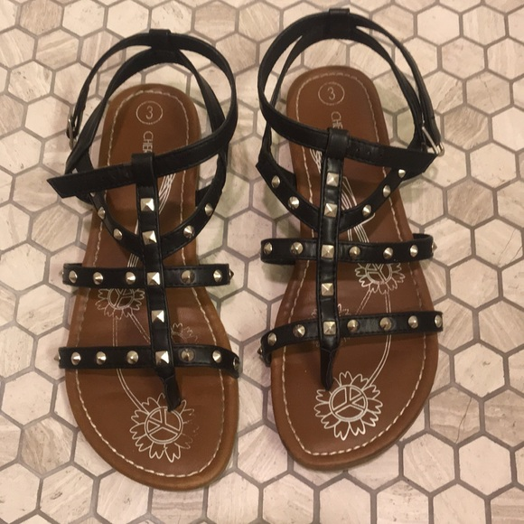 cdb0237022d525 Cherokee Brand Girls Sandals - size 3